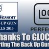 GLOCK Sponsors Inaugural S&W IDPA Back Up Gun Nationals