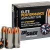 SIG SAUER® Introduces its First Line of Premium Centerfire Pistol Ammunition