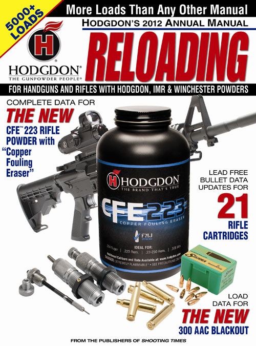 Hodgdon's 2012 Annual Manual© is the most compressive yet