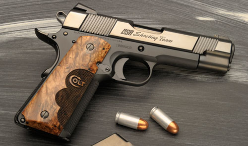 Colt s donated custom wiley clapp commander brings 7 025 at auction