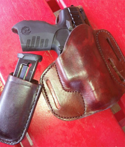 Holster and pouch for the Ruger SR22