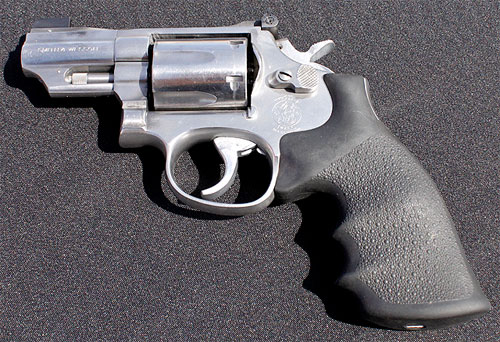 The High Sheriff's  357 Smith & Wesson Snub Nose revolver