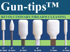 Gun-tips from Swab-its