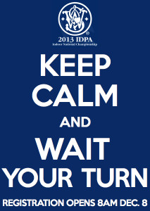 Keep Calm and Wait Your Turn