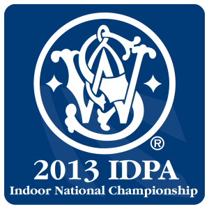 Smith &amp; Wesson IDPA Indoor Nationals logo