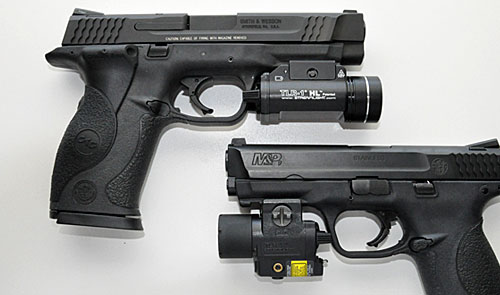 Streamlight's TRL-1 and TRL4.