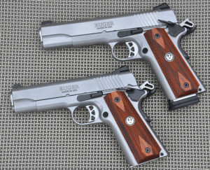 The Ruger SR1911 and the Ruger SR 1911 Commander.