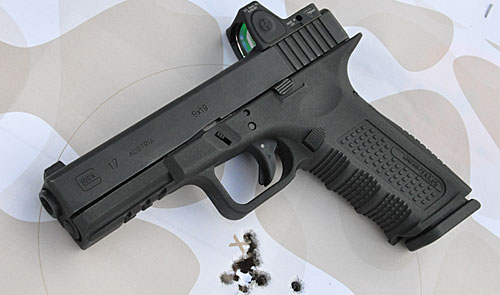 Trijicon RMR Glock – Red dots on handguns – the wave of the future?