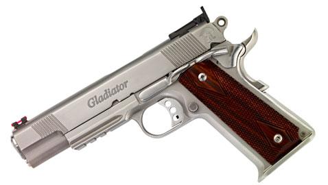 Maximus Arms Releases 100% American-Made, Custom 1911 .45 ACP Gladiator Pistol