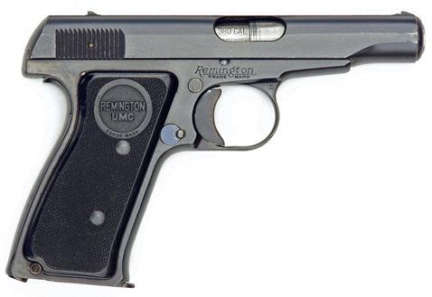 The original Remington Model 51 pistol in .380 ACP caliber.