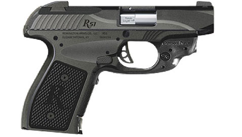 The new 9mm R51 with its Crimson Trace Laser Module.