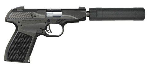 The R51 with suppressor attached.