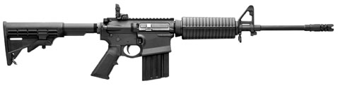 DPMS' new GII AP4 is a featherweight .308 on an AR-15 size chassis!
