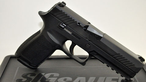 Reviewing the Sig P320 | Down Range TV