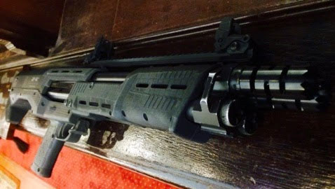 First Look: The DP-12 Double Barrel Pump Shotgun
