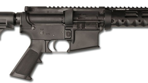 Pistol caliber carbines were everywhere at SHOT Show. This is the STAG Arms Model 9.