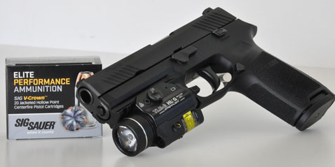 The Sig P320  45ACP | Down Range TV