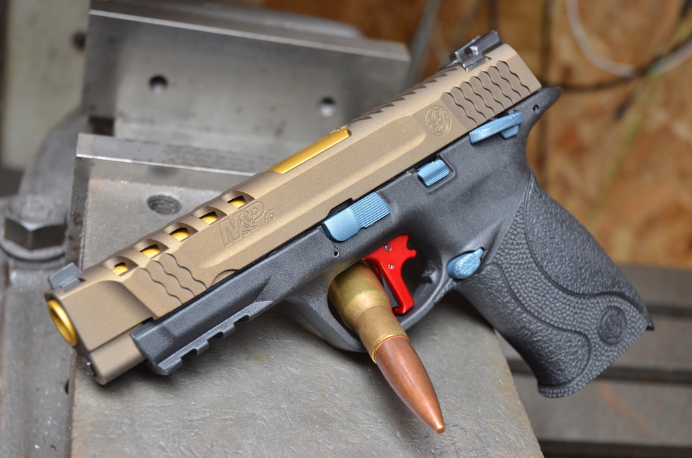 Tuscarawas Valley Friends of NRA To Raffle Custom Apex'd M&P45