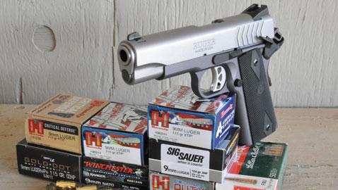 Shooting The Ruger SR1911 LW 9mm | Down Range TV