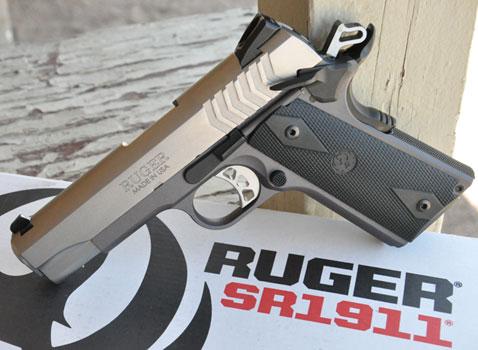 Ruger SR1911® Lightweight Commander 9mm