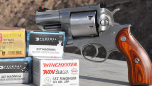 Shooting The New Ruger Redhawk .357 Magnum