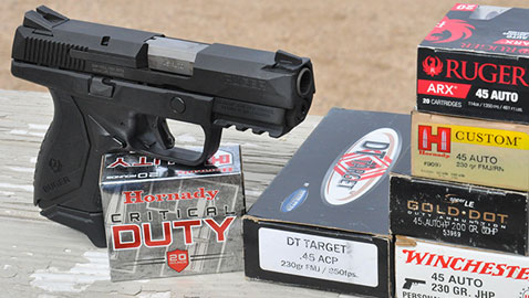 Review: Ruger American Compact Pistol  45ACP | Down Range TV