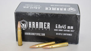 The 6.8 Kramer Urban Combat Cartridge