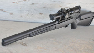 Ruger American Target Rifle .22 and Silent-SR Suppressed Barrel