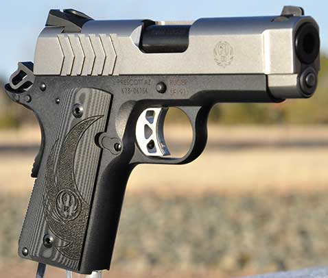 Review: Ruger SR1911 Lightweight Officer-Style Model   Down