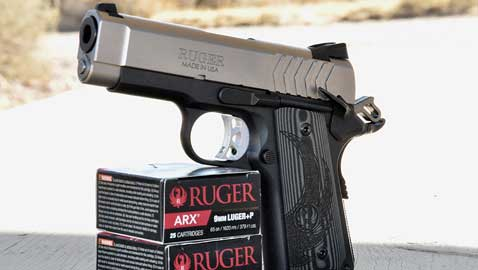 Review Ruger Sr1911 Lightweight Officer Style Model Down Range Tv