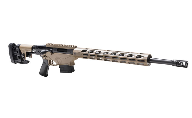 Ruger Security 9 and Precision Rifle in Matching Colors