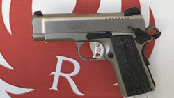 Review: Ruger SR1911 Lightweight Officer-Style Model .45ACP